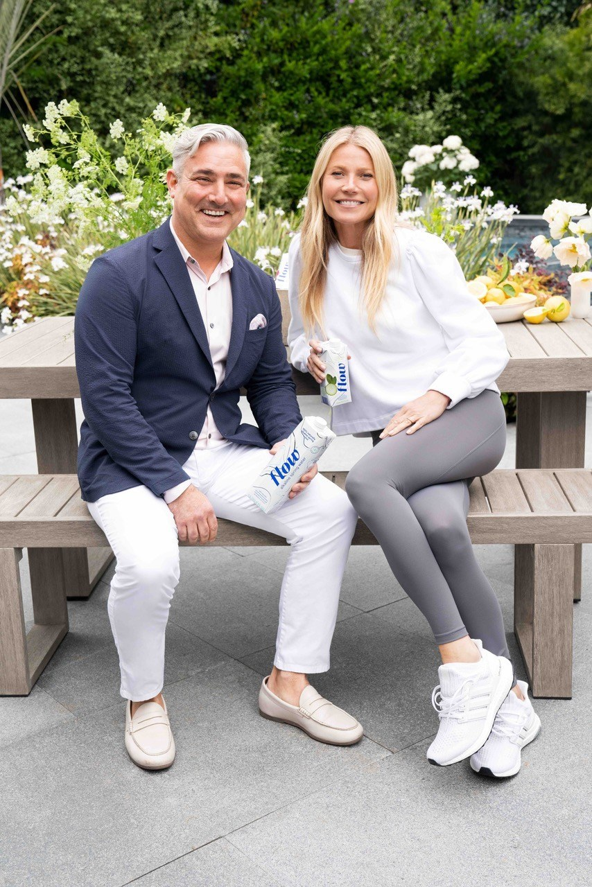 North America's Fastest Growing Premium Alkaline Water Brand Announces Its First International Campaign with Gwyneth Paltrow