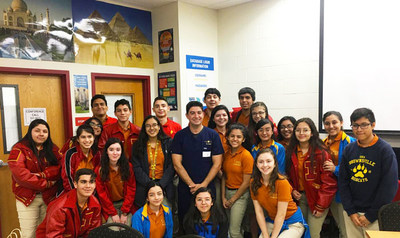 Rodeo Dental Sponsors IDEA Frontier — Sophomores Take The LEAP!