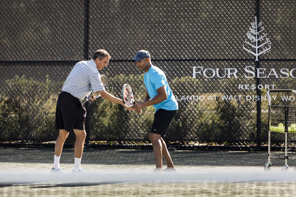 On-Site Tennis Pro