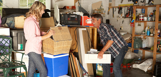 Organize your garage with these simple hacks.