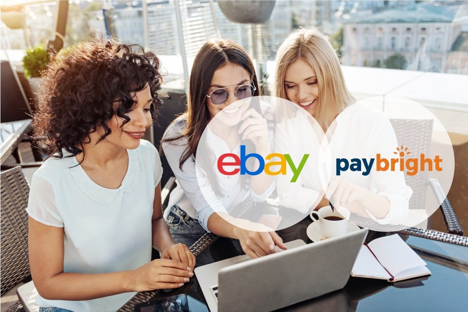 eBay Canada introduces PayBright financing solution to the platform, enabling shoppers to pay over time (CNW Group/PayBright)