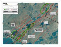 Figure 4: Additional Exploration Targets (CNW Group/Purepoint Uranium Group Inc.)