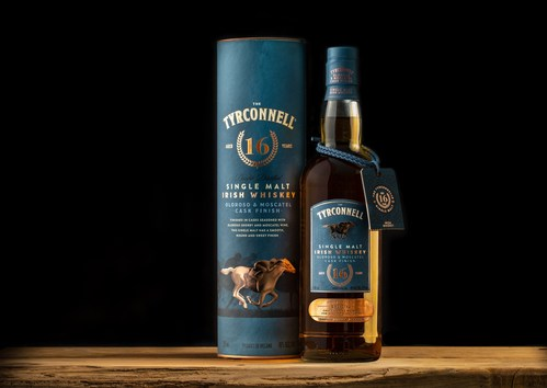 Introducing The Tyrconnell® 16 Year Old Oloroso & Moscatel Cask Finish Limited-Edition Irish Whiskey. The Tyrconnell releases its oldest and most unique cask-finished expression to date. Photo credit: Beam Suntory. and the only Irish Whiskey of its kind on the market