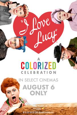I Love Lucy: A Colorized Celebration