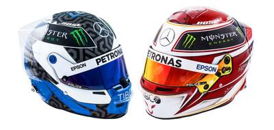 F1™ Lewis Avec Police Petronas Hamilton Court Et Amg Mercedes En F1lcJTK