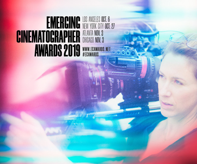 The International Cinematographers Guild (ICG, IATSE Local 600) has named 10 honorees for the 2019 Annual Emerging Cinematographer Awards (ECA), spotlighting promising cinematographers and providing crucial exposure needed to succeed in the motion picture industry.
