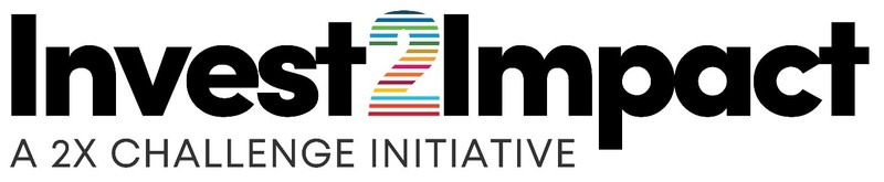 Logo: Invest2Impact, a 2X Challenge initiative (CNW Group/FinDev Canada)