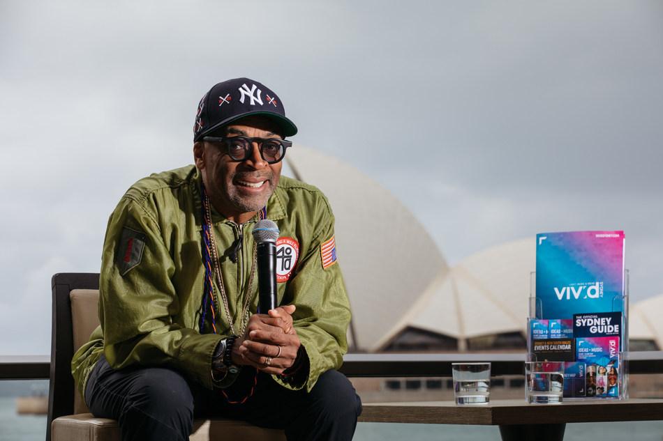Spike Lee at Vivid Sydney_credit Destination NSW