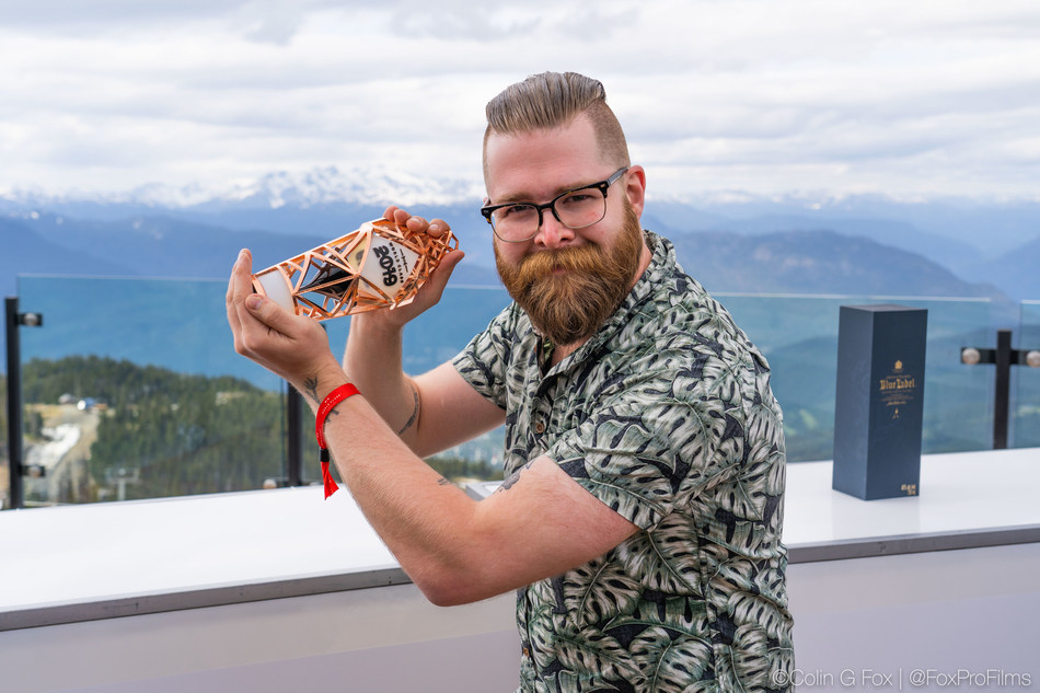 Diageo WORLD CLASS CANADA crowns Jeff Savage from Vancouver, British Columbia as its Bartender of the Year 2019. (CNW Group/Diageo Canada)