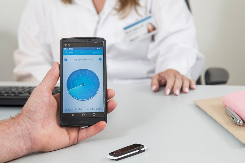 GlucoMe's advanced digital diabetes care platform connects healthcare providers, caregivers and patients