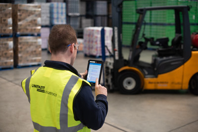 Unipart encourages employees to learn new digital skills to solve operational problems. One example is the 'yard app', developed by a Unipart employee and now delivering 75 per cent improvement across operations at a site in Lancashire.