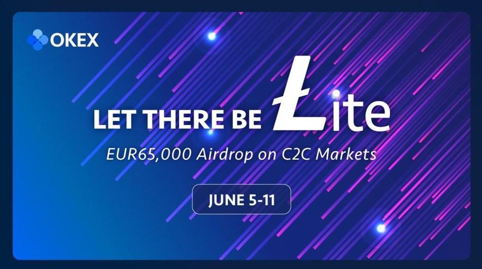 OKEx Gives away EUR65,000-worth Bonus in Celebration of Litecoin Halving
