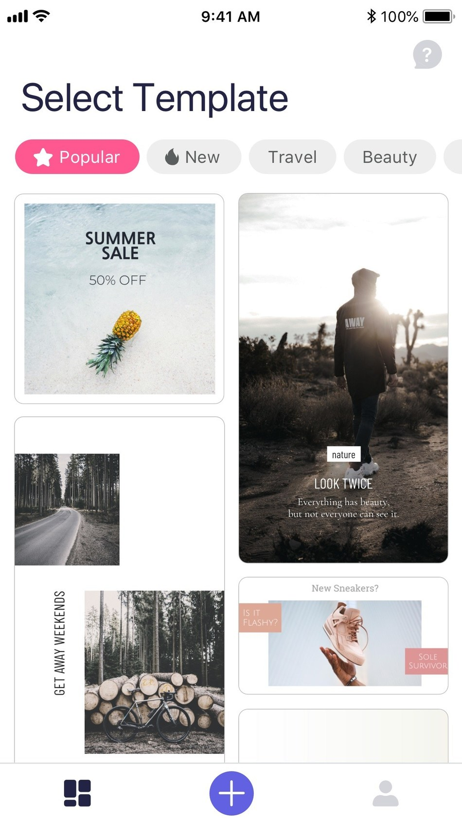 Best promo video maker app - Impresso