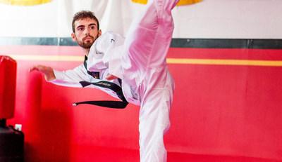 Anthony Cappello représentera le Canada en parataekwondo cet été aux Jeux parapanaméricains de Lima 2019. PHOTO : Taekwondo Canada (Groupe CNW/Canadian Paralympic Committee (Sponsorships))