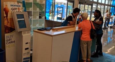 Cash-2-Card Self-Service Kiosk
