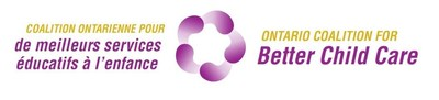 Logo: Ontario Coalition for Better Child Care (OCBCC) (CNW Group/Canadian Union of Public Employees (CUPE))