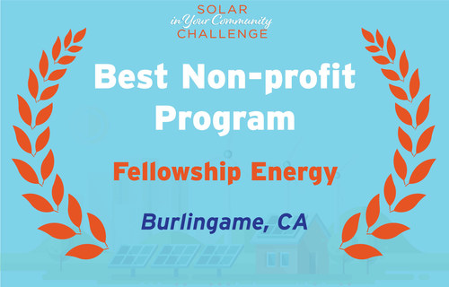 Fellowship Energy Wins U.S. Department of Energy Award to Expand Solar Access for Nonprofits