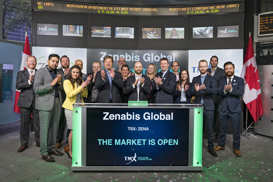 Zenabis Global Inc. Opens the Market (CNW Group/TMX Group Limited)