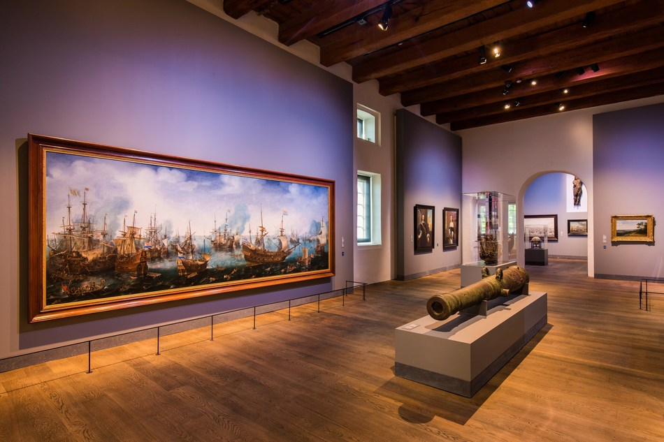 Opening of new main gallery with exhibition 'Republic at Sea'
