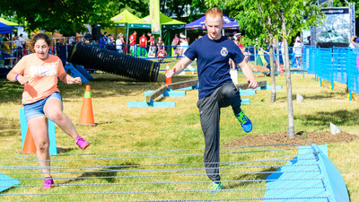 The festival is excited to bring back the Ship Shape Obstacle Course. The Navy, Canadian Coast Guard, crew members from ships and visitors will be invited to participate. (CNW Group/Water's Edge Festivals & Events)