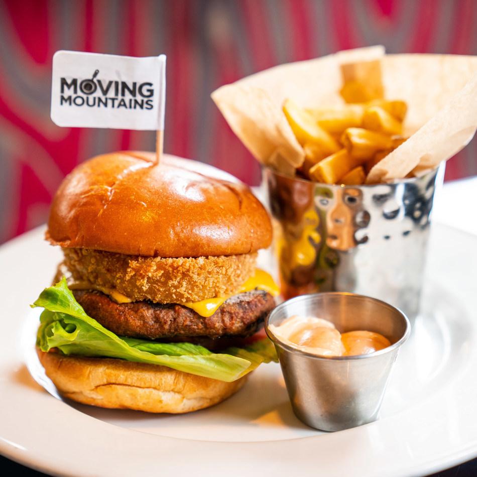 Moving Mountains Burger at The Hard Rock Cafe (photo credit: Adwaiz)