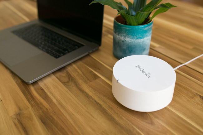 The Tri-Band mesh router delivers ultra-fast high-speed 11ac Wave 2 wireless, the latest Wi-Fi tech, throughout your entire house ? without interruptions. No more dead spots or delayed studying, working, or entertaining. The stress-free EnMesh Home Wi-Fi system puts your network's control in your hands. Easily create a personal cloud to access your files from anywhere through the ESR580.