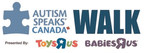 "Autism Speaks Canada's annual Walk comes to Waterloo this Sunday, June 9, 2019 at Waterloo Memorial Recreation Complex, presented by Toys""R""Us and Babies""R""Us Canada"
