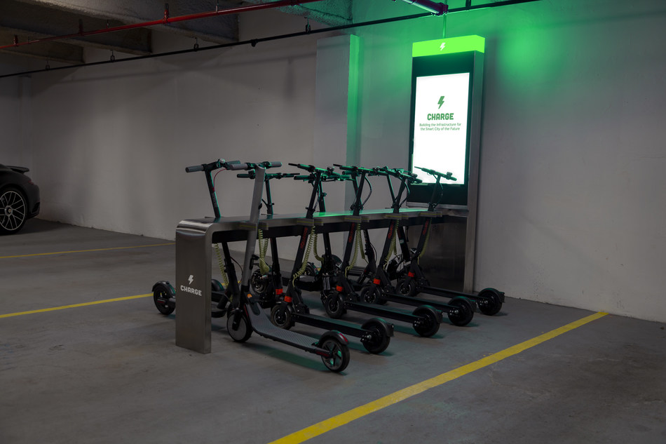 "GetCharged, Inc. (""Charge""), a micromobility company building the largest network of electric charging, storage and service stations for e-scooters and e-bikes will be announcing that it has secured over 250 charging station locations in Atlanta with the first 25 installations to be up and running in the few months."