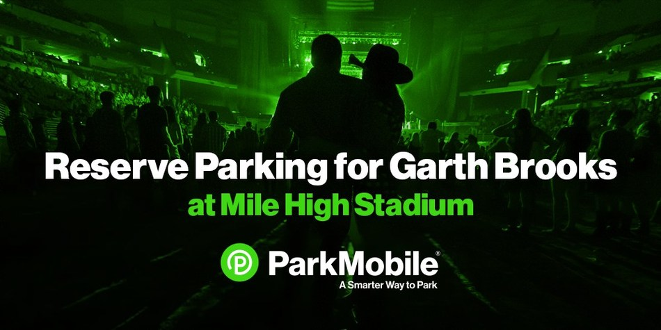 Don't miss a second of the Garth Brooks concert at Mile High Stadium because you can't find parking. Reserve your spot ahead of time with ParkMobile. Drive right to the lot and have a guaranteed spot waiting for you. ParkMobile is a smarter way to park for concerts.