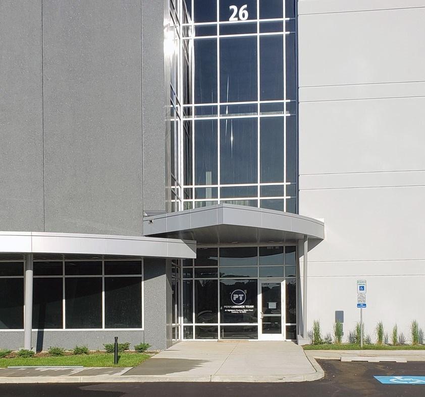 Cranbury, New Jersey. Performance Team facility.