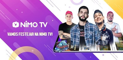 Nimo TV officially arrived in Brazil engaging local super broadcasters