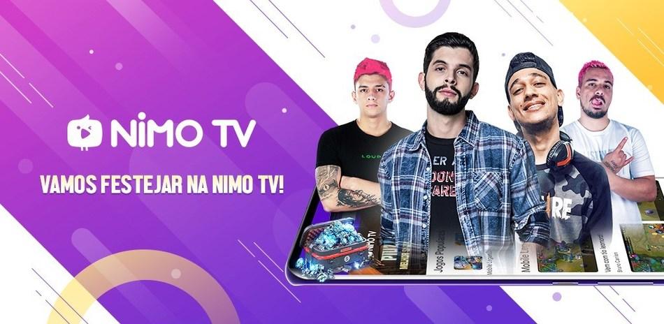 Nimo TV llegó oficialmente a Brasil con la participación de súper locutores locales (PRNewsfoto/Huya)