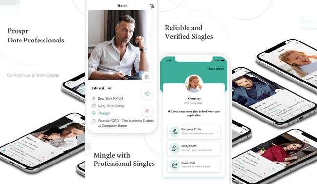 Prospr: The no-swipe dating app for educated professionals