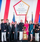Sodexo-Managed Dining Facilities at Air Force and Marine Corps Bases Earn Top Prizes at Annual Military Foodservice Awards Dinner
