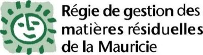 Logo : Régie de gestion de matières résiduelles de la Mauricie (Groupe CNW/Énergir)
