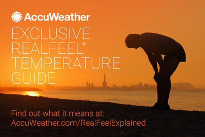 Other weather variables in addition to temperature, such as sunlight, humidity, wind, precipitation and a multitude of other factors, can impact our comfort or discomfort outside and may even cause harm or illness. The AccuWeather RealFeel Temperature Guide is the only tool that works in all weather conditions and translates into actionable behavior choices.