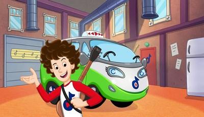 Jeremy and Tunebug animated image courtesy of Vérité Films (CNW Group/Vérité Films)