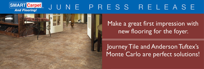 Make a great first impression with new flooring for the foyer.