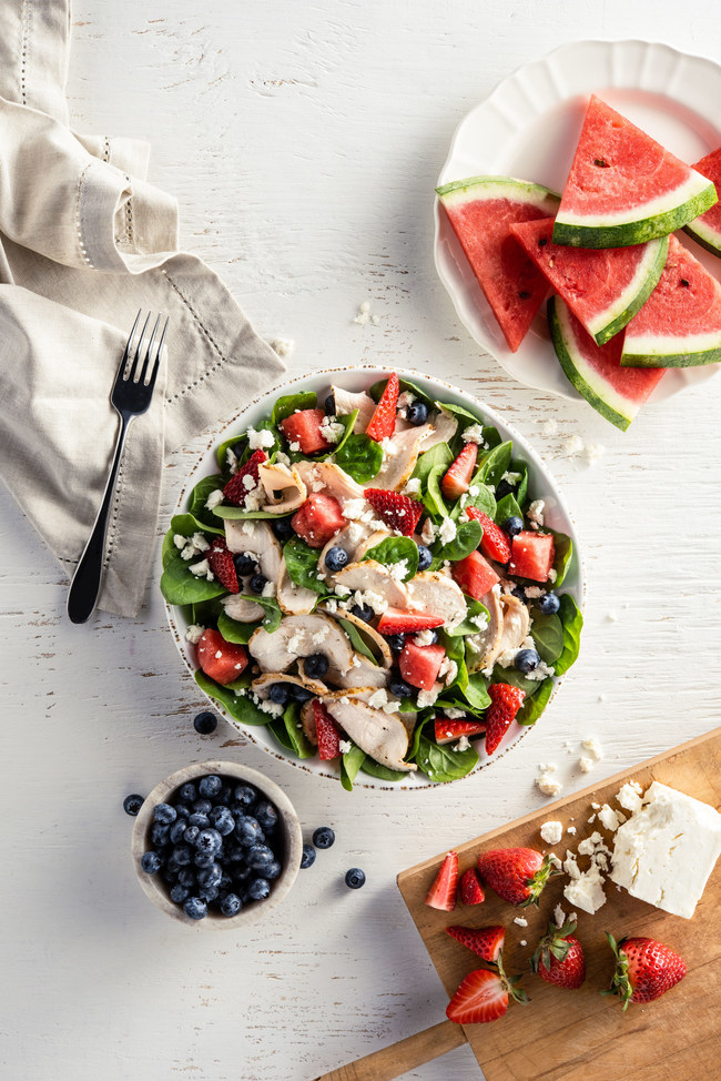 Newk's Eatery Introduces New Red, White & Blueberry Salad for Summer