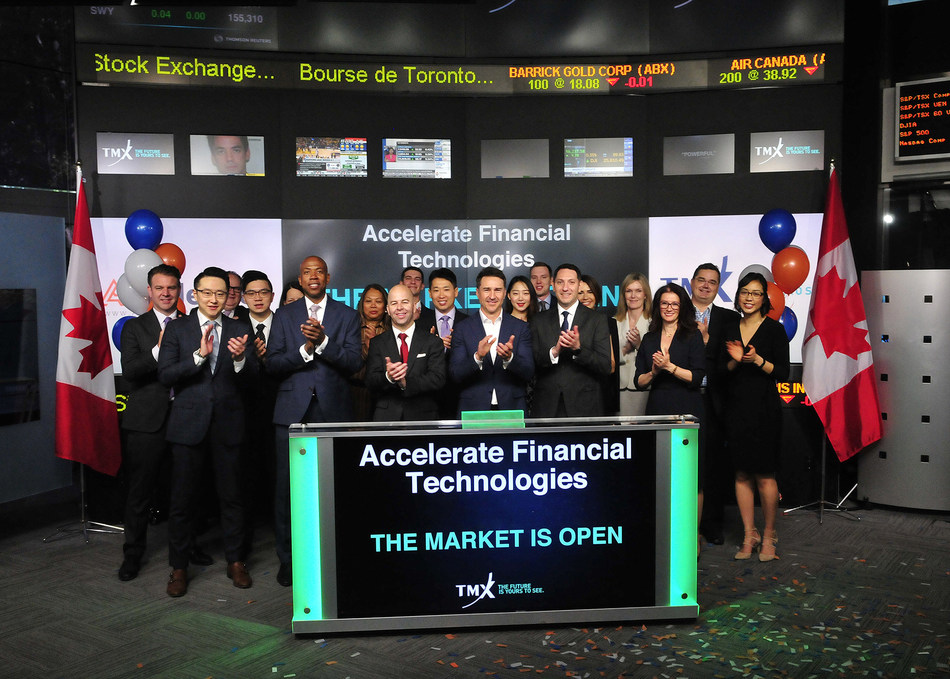 Accelerate Financial Technologies Inc. Opens the Market (CNW Group/TMX Group Limited)