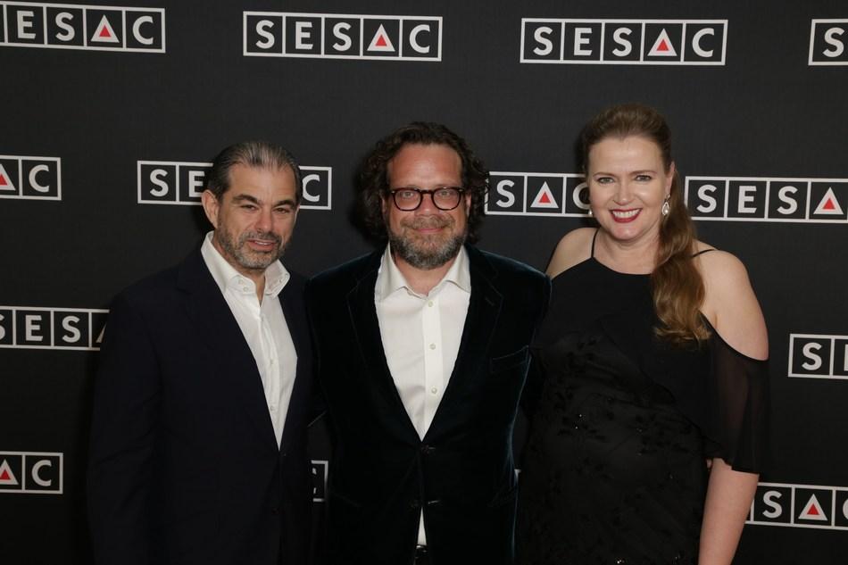 (L-R: John Josephson, Christophe Beck and Erin Collins)