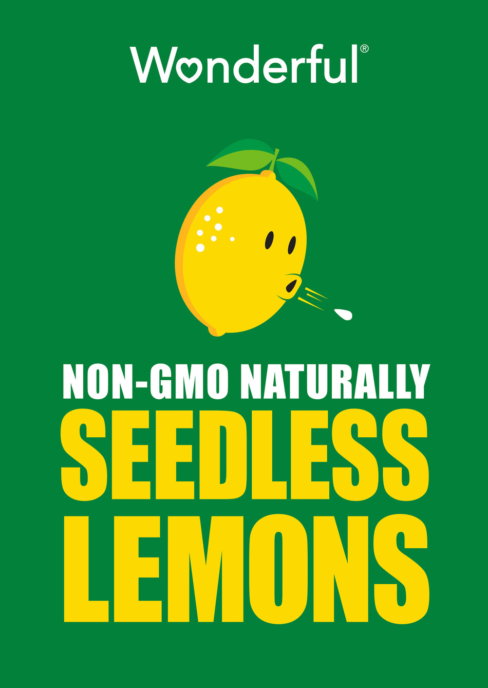The Wonderful Company Seedless Lemons Logo