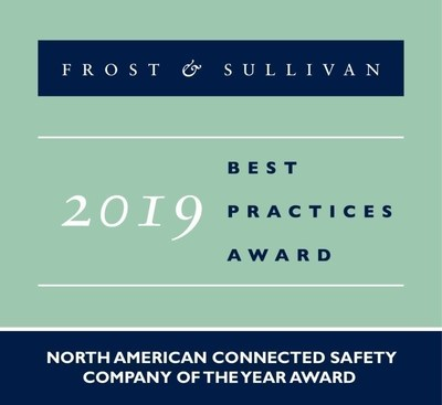 Frost & Sullivan Names Guardhat the 2019 North America Company of the Year for its Connected PPE Worker Safety Solutions