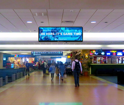 Clear Channel Airports's new state of the art advertising network at PBI will incorporate diverse media assets and the latest in digital technology, reaching over 6.5 million passengers annually.