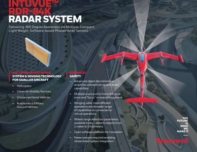 Honeywell's IntuVue RDR-84K Radar System fact sheet