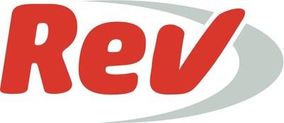 Rev.com logo (PRNewsfoto/Rev.com, Inc)