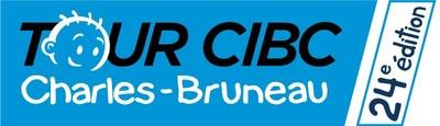 Logo : Tour CIBC Charles-Bruneau, 24e édition (Groupe CNW/Fondation Charles-Bruneau)