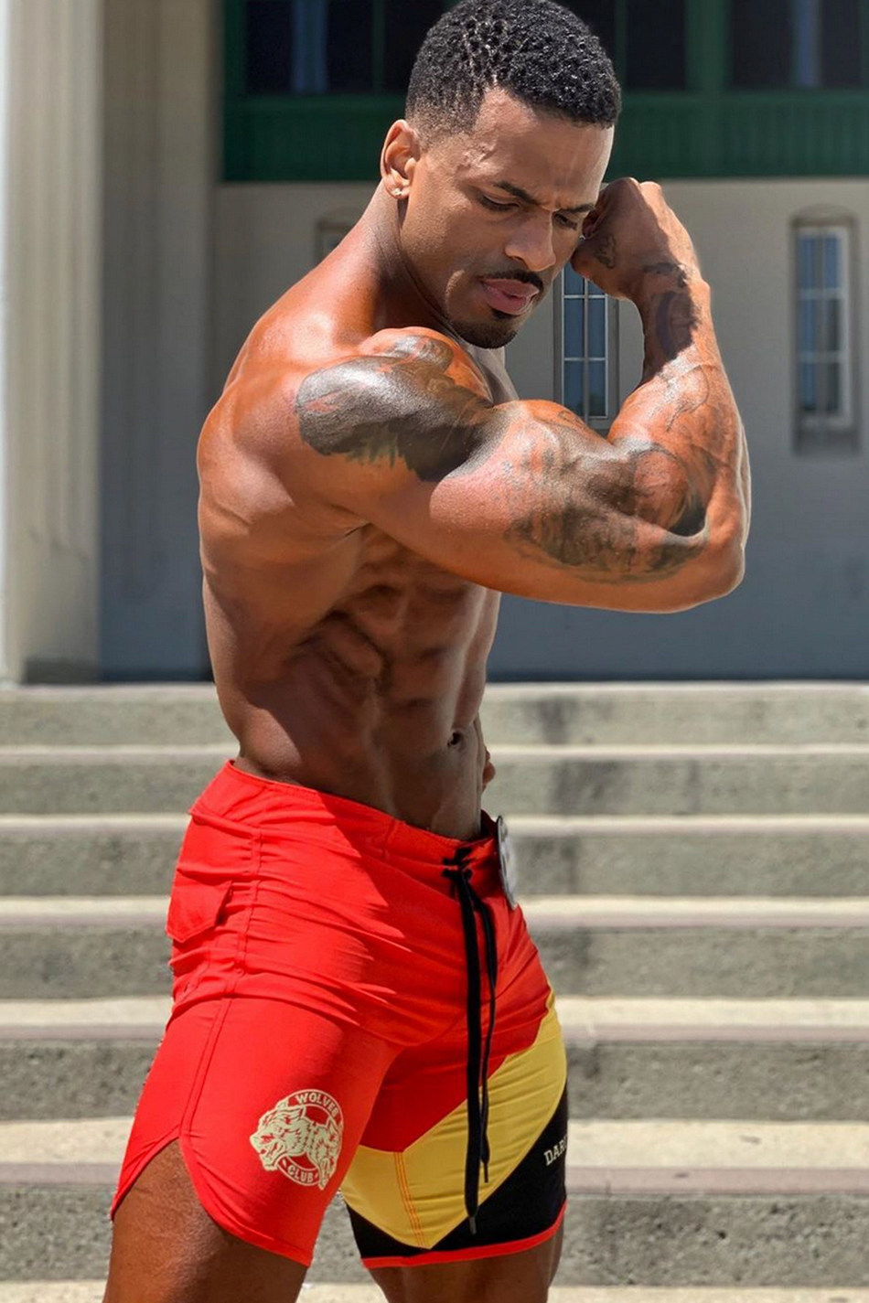 Mon Ethos Pro Bodybuilder Suraqah Shabazz
