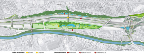 Projet de nouveau parc-nature dans la cour Turcot : le rapport de la consultation publique est disponible. (Groupe CNW/Office de consultation publique de Montréal)