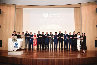 """ToJoy Western Europe Officially Established and Committed to Promoting Global """"Joy Sharing"""""""